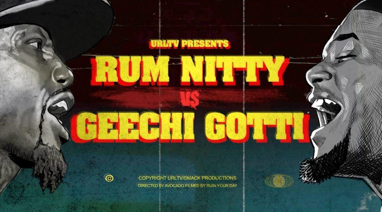 GEECHI GOTTI VS RUM NITTY RAP BATTLE | URLTV