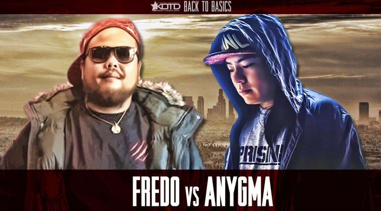 KOTD – Rap Battle – Fredo vs Anygma
