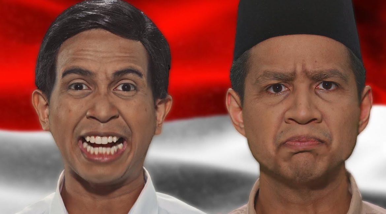Prabowo VS Jokowi – Epic Rap Battles Of Presidency