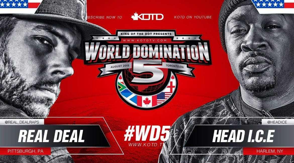 Battle Rap: Real Deal Vs Head I.C.E. KOTD