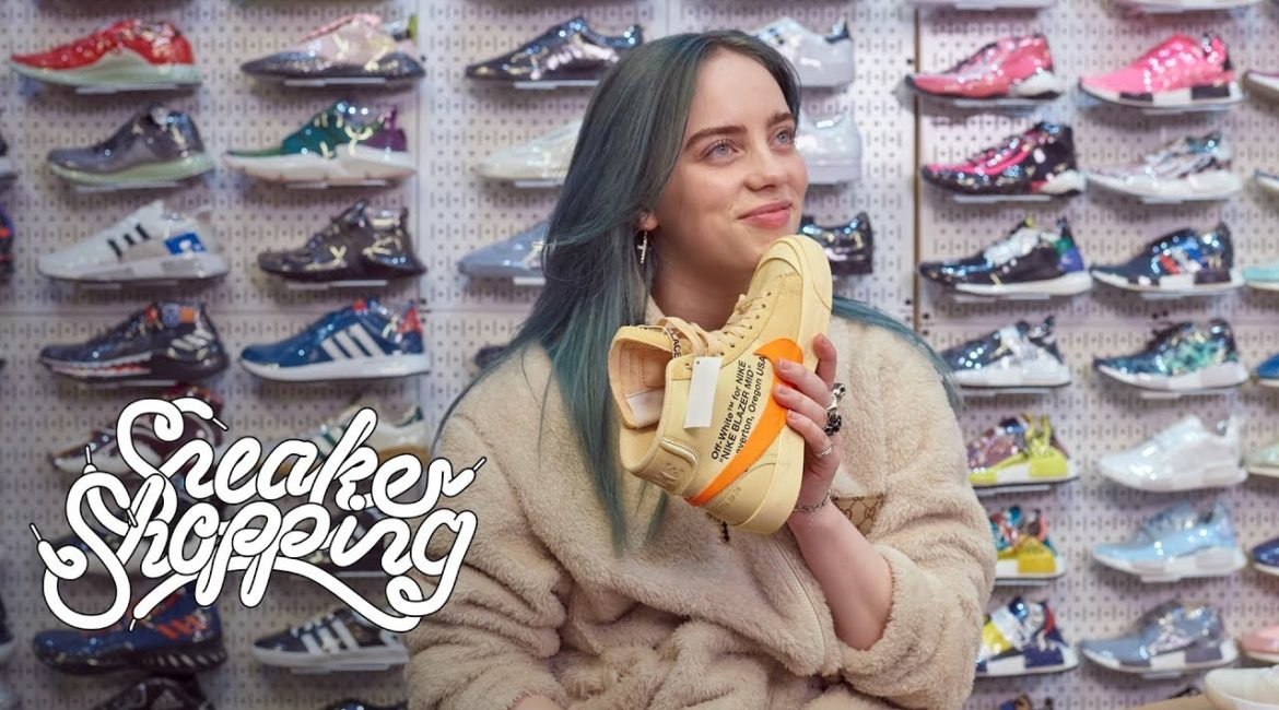 Billie Eilish Goes Sneaker Shopping With Complex