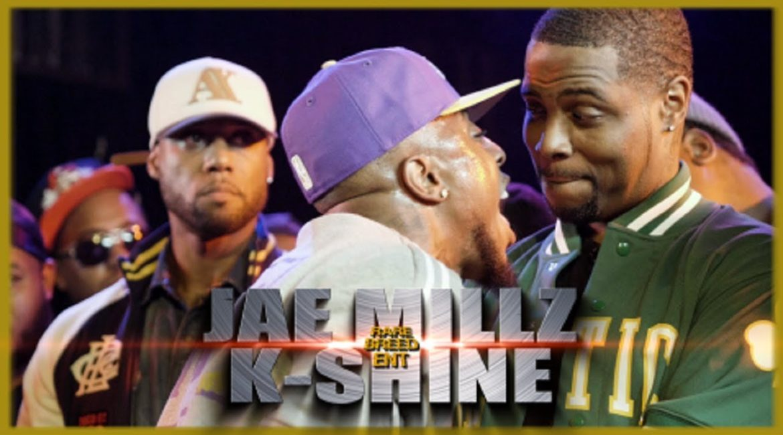 Battle Rap: Jae Millz Vs K-Shine – RBE