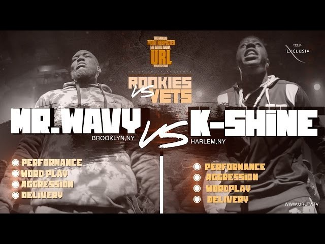 Battle Rap: K-Shine Vs Mr Wavy Smack/URL Rookies Vs Vets