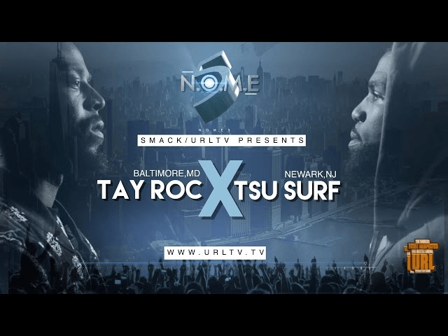 Battle Rap: Tsu Surf Vs Tay Roc Smack/URLTV