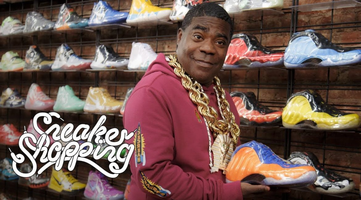 Tracy Morgan Goes Sneaker Shopping With Complex