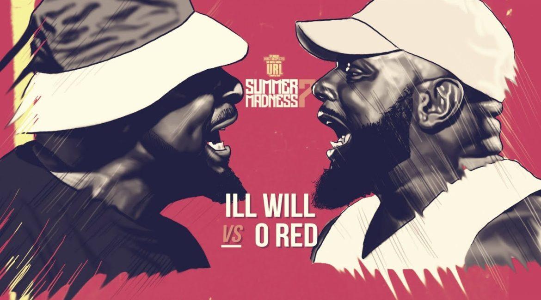 O-RED VS ILL WILL RAP BATTLE | URLTV
