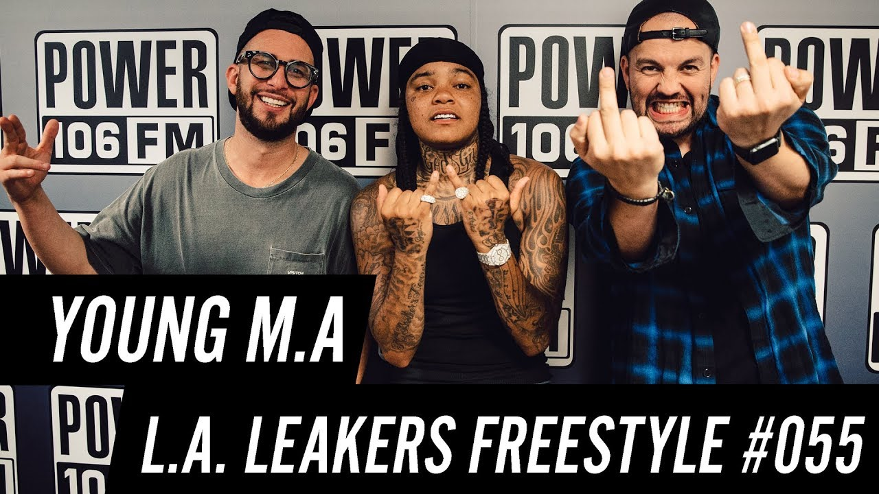 Young M.A Freestyle w/ The L.A. Leakers – Freestyle #055