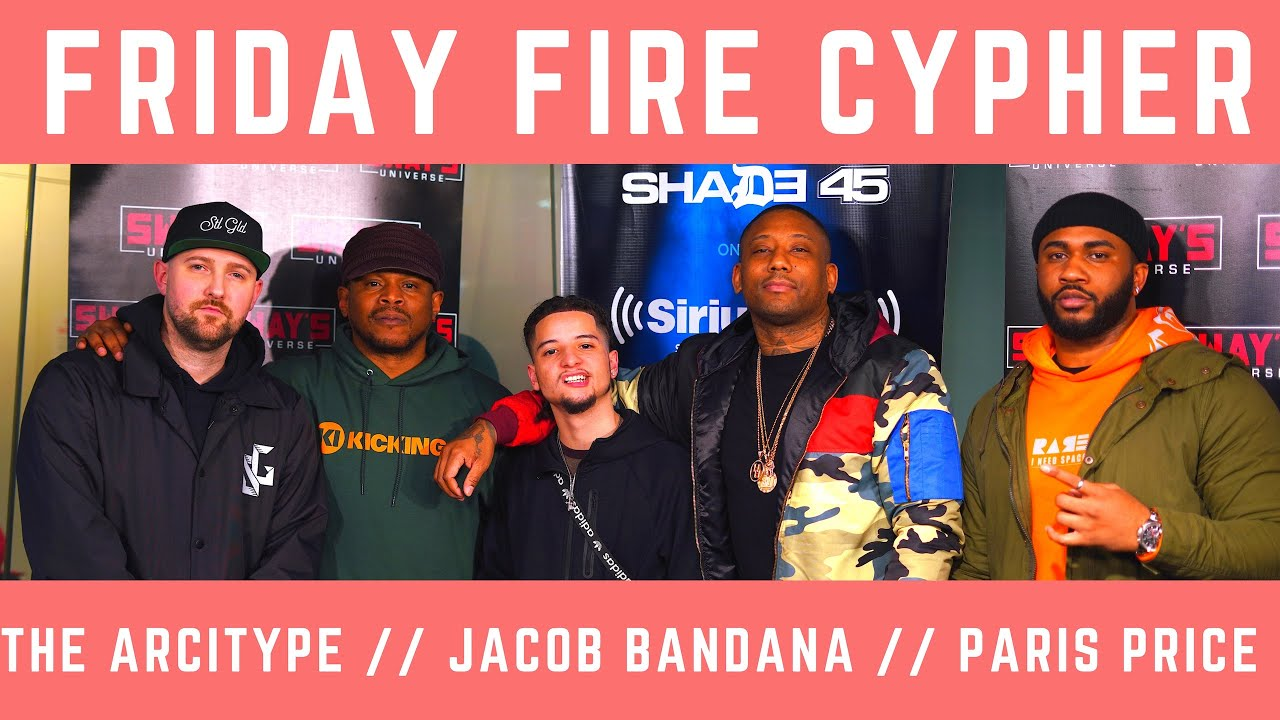Friday Fire Cypher: Paris Price and Jacob Bandana Freestyle Over The Arcitype Beats