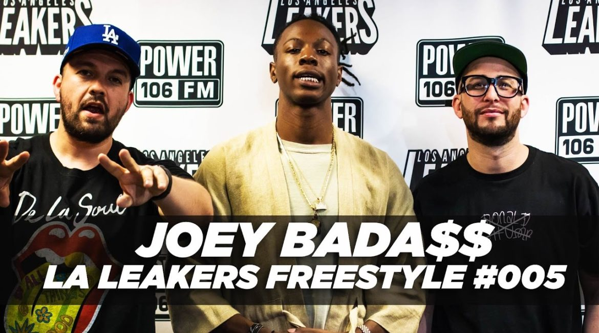Joey Bada$$ Spits Fire Over Future's 'Mask Off' beat!