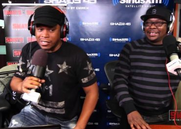 "Bobby Brown Does the ""5 Fingers of Death"" on Sway in the Morning!"