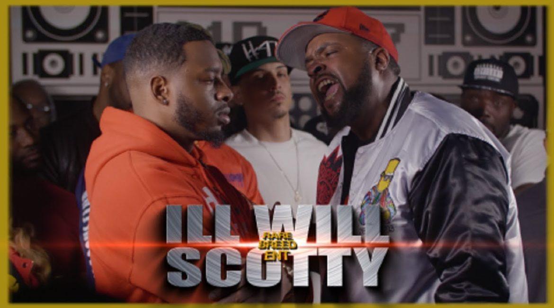 ILL WILL VS SCOTTY RAP BATTLE – RBE