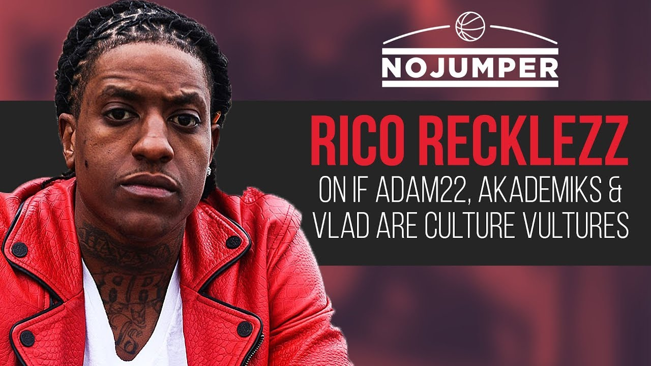 Rico Recklezz On Who's a Culture Vulture