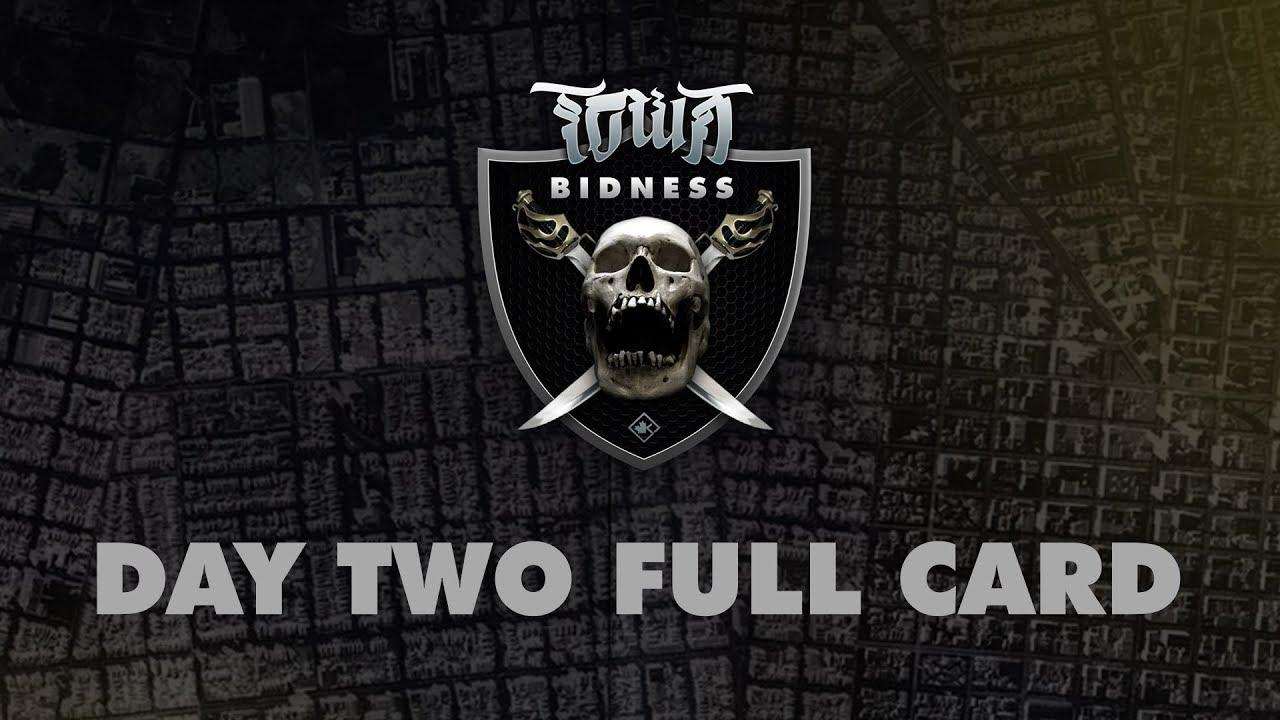 KOTD Presents Town Bidness Day 2 Full Card Trailer