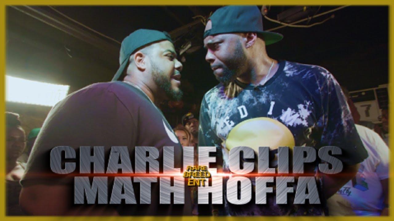 CHARLIE CLIPS VS MATH HOFFA RAP BATTLE – RBE