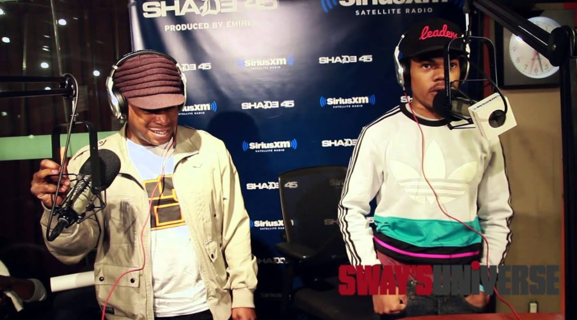 Chance the Rapper Freestyles on Sway in the Morning Show | Sway's Universe