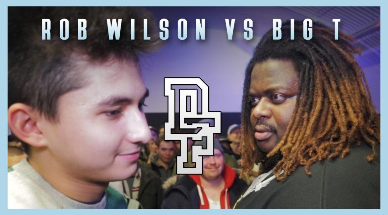 ROB WILSON VS BIG T   Don't Flop Rap Battle