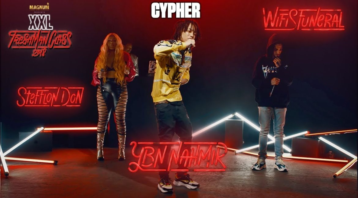 YBN Nahmir, Stefflon Don and Wifisfuneral's Cypher – 2018 XXL Freshman