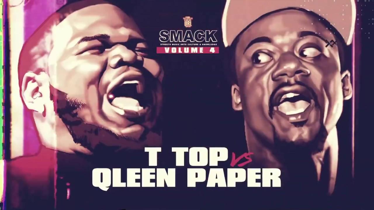 T-TOP VS QLEEN PAPER RAP BATTLE | URLTV