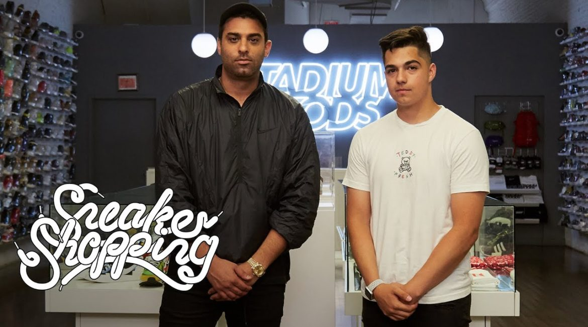 Fan Contest Winner Ed Mora Goes Sneaker Shopping with Complex