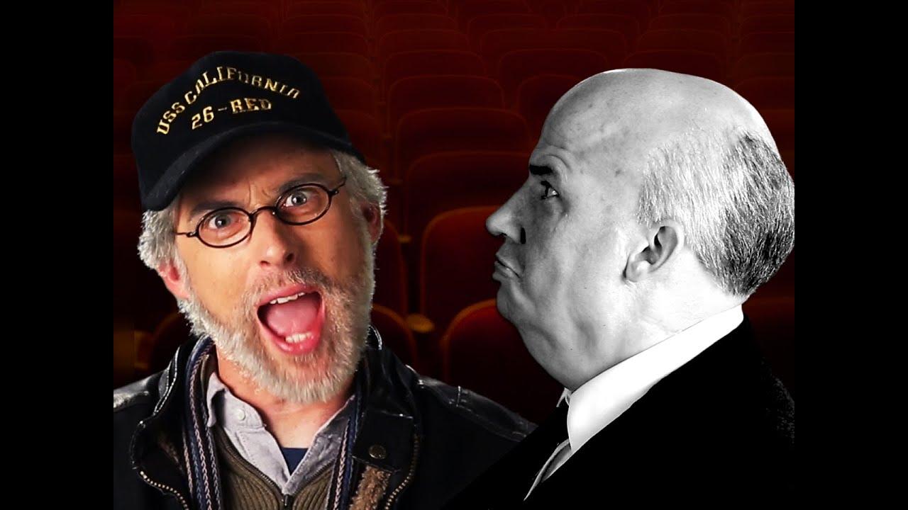 Steven Spielberg vs Alfred Hitchcock. Epic Rap Battles of History