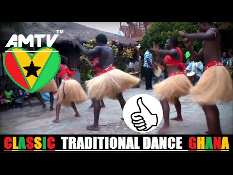 African Traditional Dance – Kusun Ensemble – Ghana- African Music tv [ #AMTVjams ]